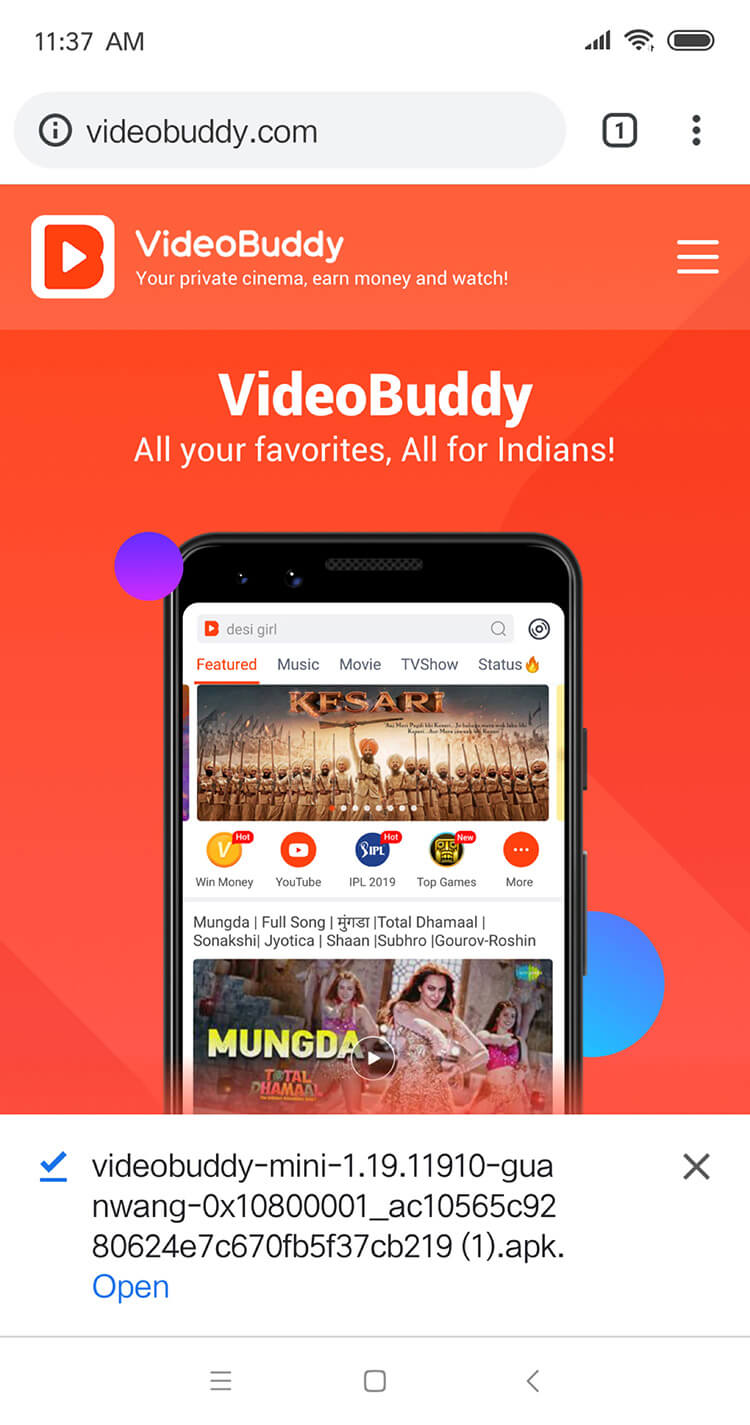 VideoBuddy - Best Youtube Downloader, Movie download